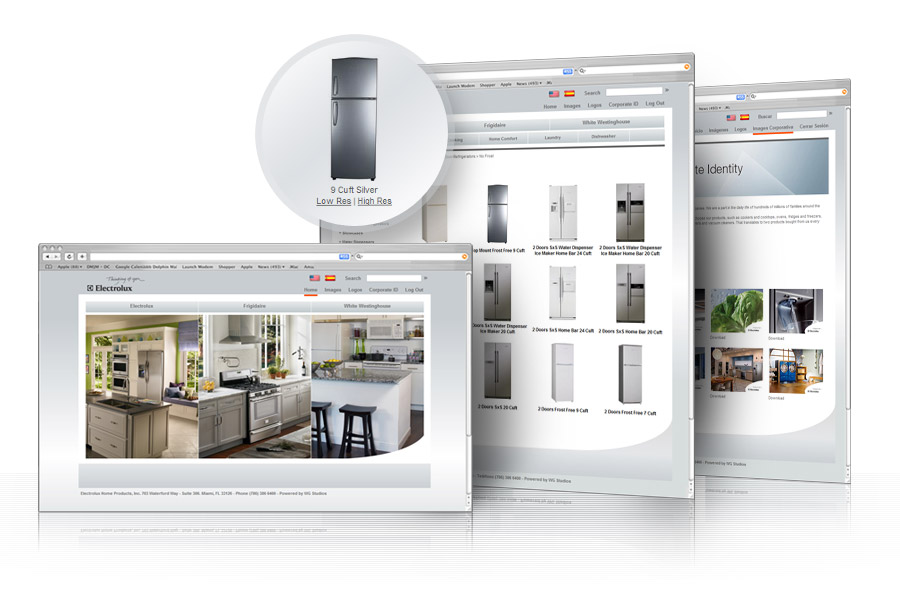 image bank internal application